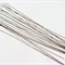 8 Twisted Flexible Beading Needles Collapsible eye 10cm Pearl Small Beads