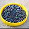 30g Peacock Blue green purple Iris Glass Seed Beads size 12/0