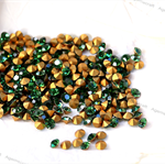 12 Vintage Green Tourmaline ss10 Swarovski  crystals 2.6-2.7mm  art1100