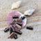 12 Copper tone Fastener Clasp  Crimp End for Lace Leather Ribbon