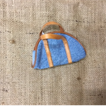 Denim Bag for Doll or Teddy Bear