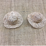 Small Doll Straw Hats