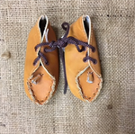 Leather Moccasins for Doll or Teddy Bear