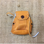 Leather Shoulder Bag for Doll or Teddy Bear.