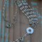 Mother's Day Gift ~ Diamante Necklace ~ DIY Project ~ DIY Jewellery Project
