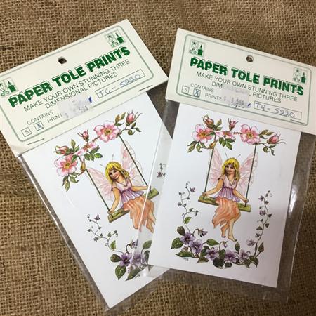 Paper Tole Prints -Fairy
