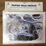 Paper Tole Prints - Bobcat
