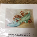 Paper Tole Print Kit - Mice in a Shoe