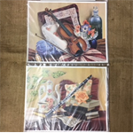 Paper Tole Prints - Violin or Clarinet