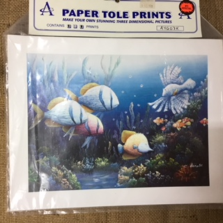 Paper Tole Prints - Fishes