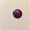 9 hand painted cabochon beads 25mm, flat back, glass, jewellery making.