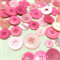 50+ Pink buttons