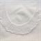 Handmade vintage lace collar