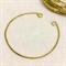 20 Antique bronze tone bangles thin cuff style