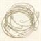 10 Silver bangles thin cuff style