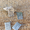 6 Chef Cook Book Charms 