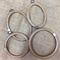 Various Plastic Embroidery Hoops/Hangers