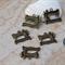 8 x Sewing Machine Singer 18x20mm bronze charm pendant