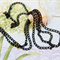 1.5m Black unfinished chain no clasp 6mmx3.5mm