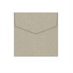 130mm Square Botany Naturaliste Recycled Envelopes - 100 pack