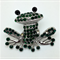 Needle Minder - Crystal Frog - FRO0002G