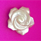 Mother of Pearl Hand Carved Rose Beads - ROS0006N -LG