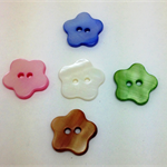 Natural Shell Dyed Buttons