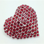 Needle Minder - Ruby Red Heart - HEA0002R