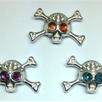 Needle Minder - Silver Skull