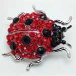 Needle Minder - Rhinestone Ladybug - BUG0001R
