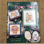 Booklet - Cross Stitch - Buttony Botany by Terrece Beesley and Trice Boerens