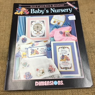 Dimensions Baby's Nursery Cross Stitch Booklet by Ruth J. and Bill D. Morehead