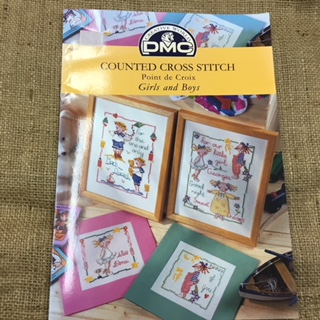 DMC Booklet Cross Stitch Girls and Boys