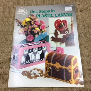 Plastic Canvas Booklet by American School of Needlework- many projects
