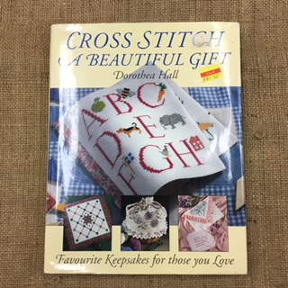 Book - Cross Stitch a Beautiful Gift by Dorothea Hall
