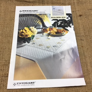 Zweigart Cross Stitch Booklet Tablecloths