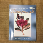 Book - Ausralian Wildflowers in Stumpwork by Annette Hinde