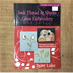 Sadi Thread & Shisha Glass Embroidery Book by Betty Luke