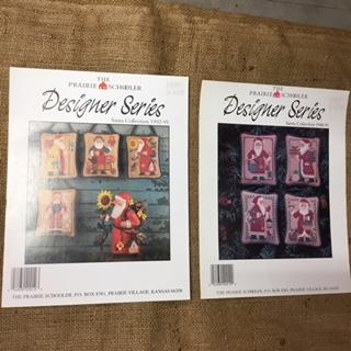 Leaflets Cross Stitch - Santa Collection 1988-91 and 1992-95 leaflets