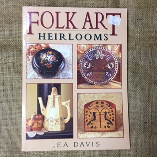 Book - Folk Art Heirlooms by Lea Davis