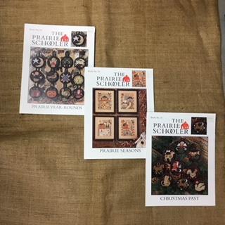 Cross Stitch Leaflets - The Prairie Schooler