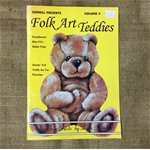 Book - Folk Art Teddies Volume 4 by Lyla Kimble