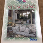Book - Guide to Stencilling by Nancy Tribolet for Delta