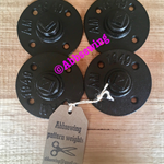 Sewing Pattern Weights - set of 4 black weights