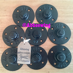 Sewing Pattern Weights - set of 8 black weights