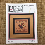 Leaflet - Wee Gobbler by Heart in Hand Needle Art by Cecilia Turner