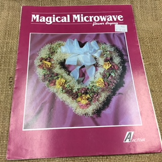 Leaflet - Magical Microwave Flower Drying
