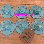 Sewing Pattern Weights - set of 6 aqua weights