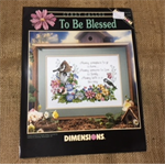 "Leaflets - Cross Stitch ""As Seasons Change"" and ""To Be Blessed"""