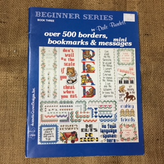 Book - Cross Stitch - over 500 borders, bookmarks and mini messages